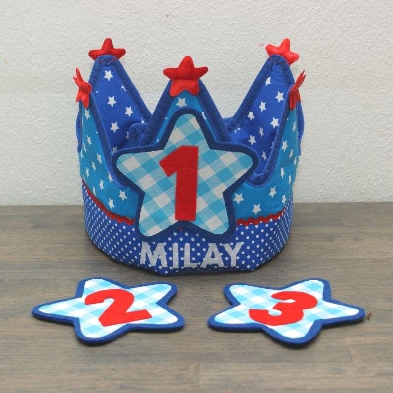 """Verjaardagskroon """"Milay"""""""