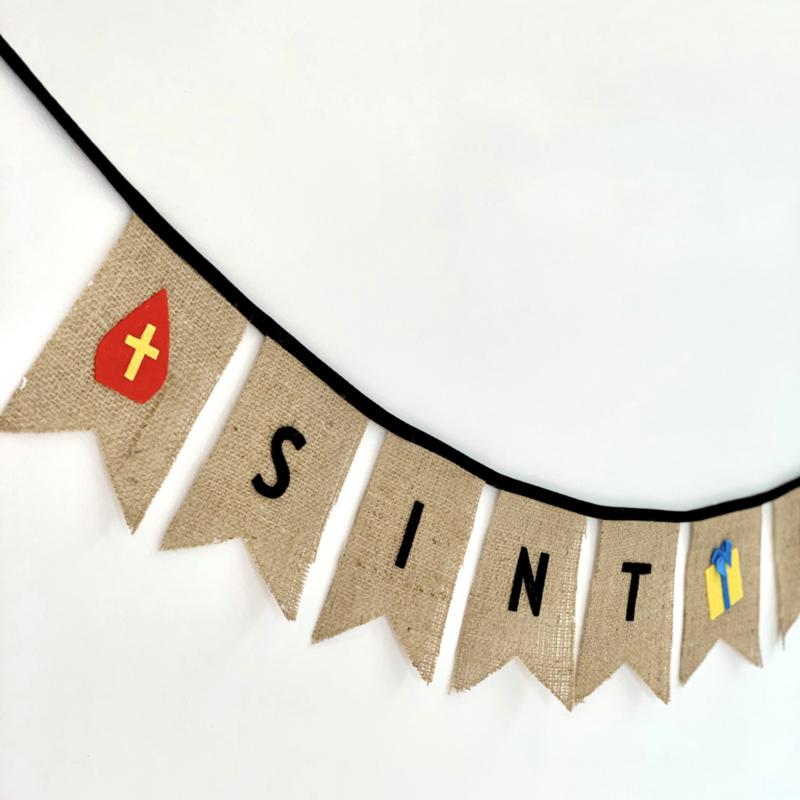 """Sinterklaas slinger """"Sint 🎁 Piet"""""""