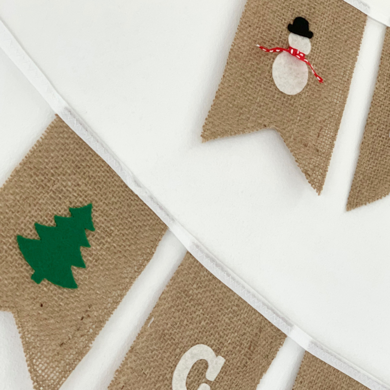 """Kerst slinger """"Merry Christmas"""""""