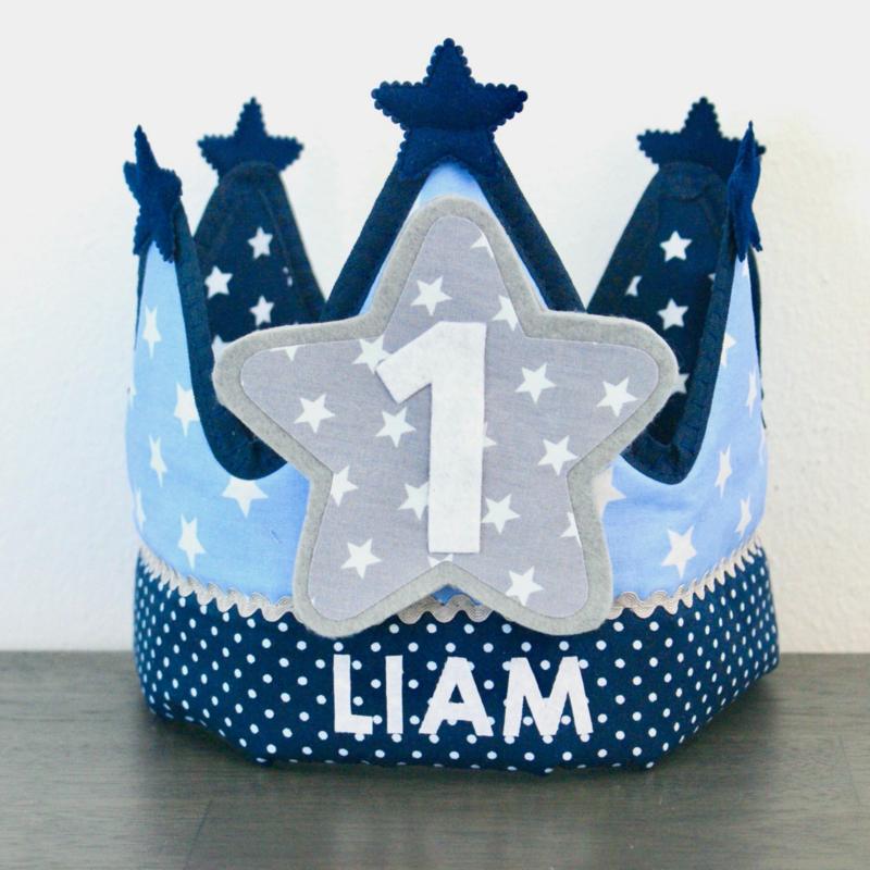Verjaardagskroon Liam