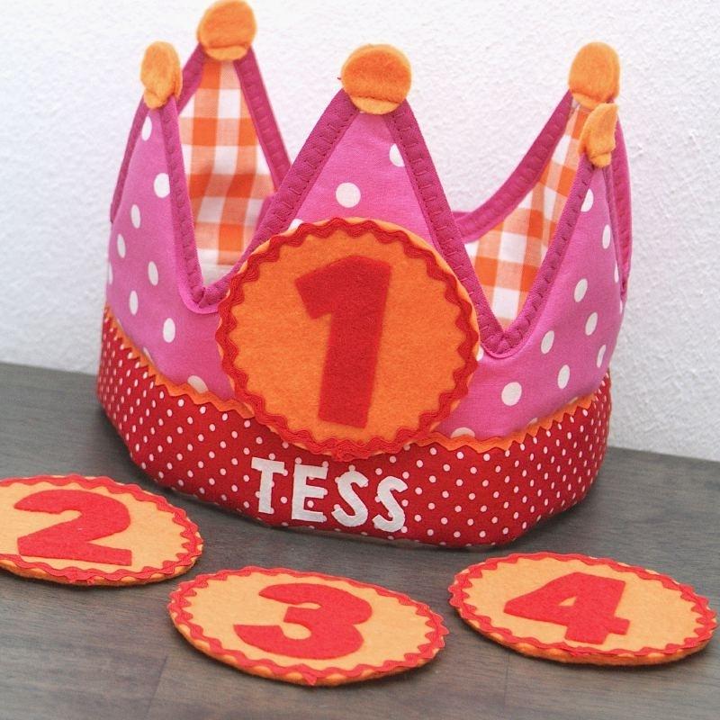 """Verjaardagskroon """"Tess"""""""