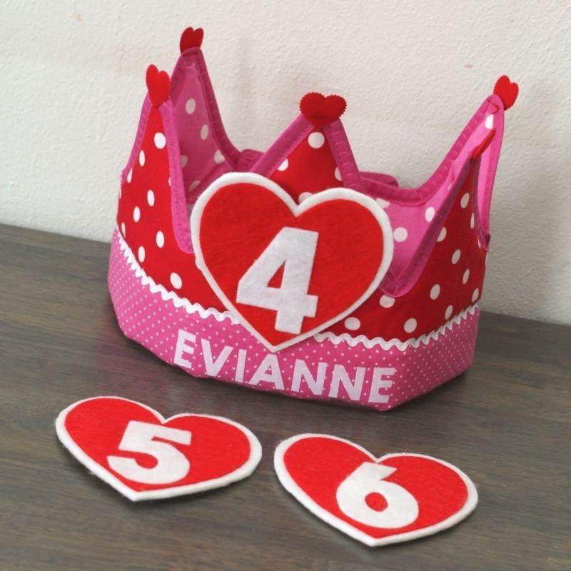 """Verjaardagskroon """"Evianne"""""""