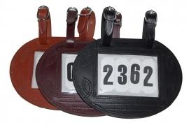 Ideal Nummerhouder ovaal voor 3 of 4 nummers