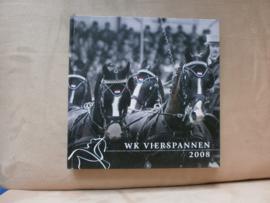 WK Vierspannen 2008 met handtekening IJsbrand Chardon