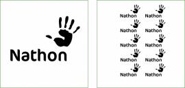 Naamsticker Nathon
