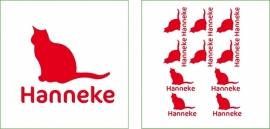 Naamsticker Hanneke