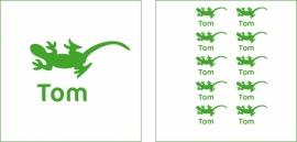 Naamsticker Tom