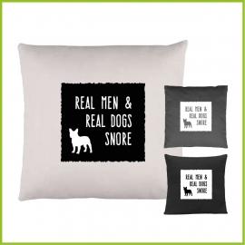 real men snore...