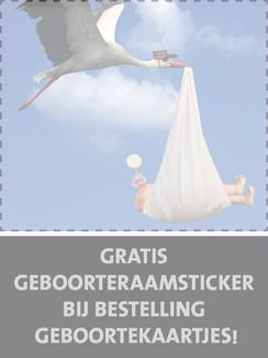 Actie geboortekaartjes