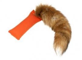 Dummy 250g oranje met vossenstaart