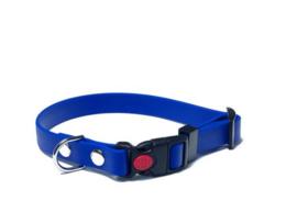 Puppy Starter set halsband + lijn - Biothane - blauw