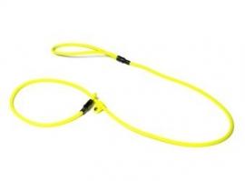 BioThane moxon 8mm - 130cm neon geel