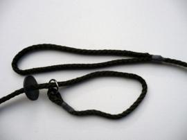 Jachtlijn deluxe touw 8mm - 150 cm zwart