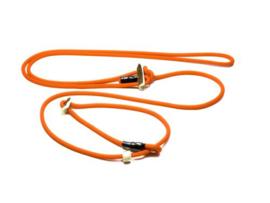 Schouderlijn `Hunting profi silent` 280cm met geweistop neon oranje
