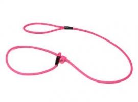 BioThane moxon 8mm - 130cm neon roze