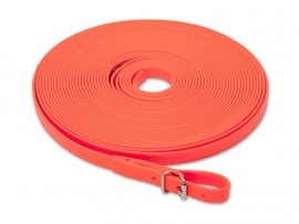 Biothane Zweetlijn 13 mm oranje 10 meter