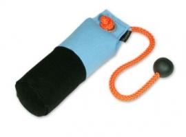Long-Throw dummy 250g licht blauw/zwart