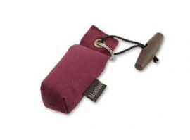 Sleutelhanger dummy wijnrood