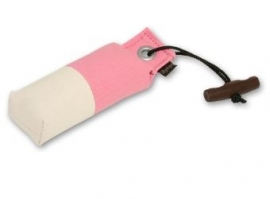 Pocket dummy 150g roos/wit