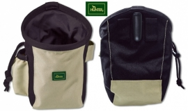 Hunter BUGRINO treatbag beige/zwart - large