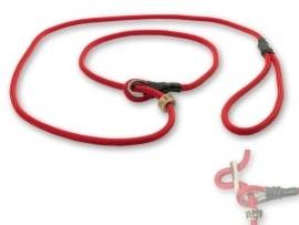 Field trial moxon lijn 6mm - 150cm met geweistop rood