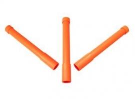 Dirigeerpaaltjes set 3 stuks - oranje