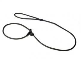 Biothane moxon 6mm - 130cm zwart