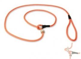 Field trial moxon lijn 6mm - 130cm met geweistop neon oranje