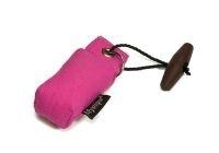 Sleutelhanger dummy donker roze