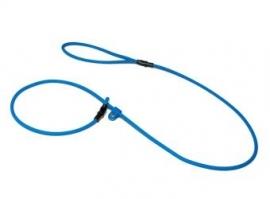 Biothane moxon 6mm - 130cm licht blauw