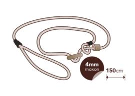 Moxon 4 mm - 150 cm met geweistop