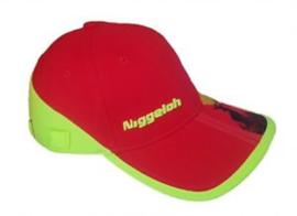 Niggeloh Cap TRAIL - geel/rood