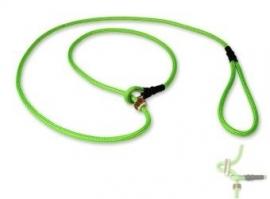 Field trial moxon lijn 6mm - 130cm met geweistop neon groen