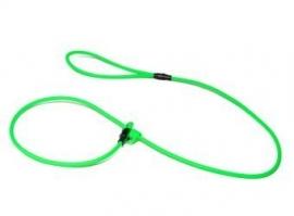 Biothane moxon lijn 8mm - 150cm - neon groen