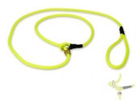 Field trial moxon lijn 6mm - 130cm met geweistop neon geel
