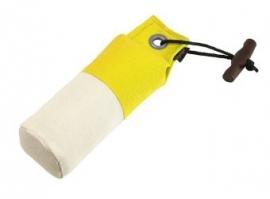 Dummy Standaard 250g geel/wit