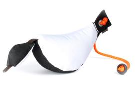 Bird Dog Dummy 200 g wit/zwart