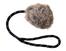 Konijnbal met touw