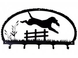 Sleutelrekje - Jumping Labrador Retriever