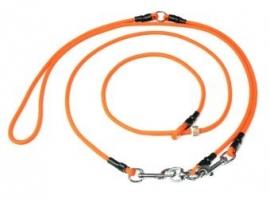 Schouderlijn 275cm/6mm - neon oranje