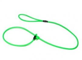 BioThane moxon 8mm - 130cm neon groen
