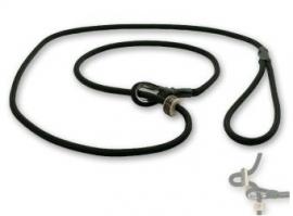 Field trial moxon lijn 6mm - 130cm met geweistop zwart