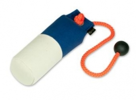 Long-Throw dummy 250g blauw/wit