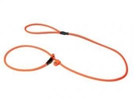 BioThane Moxon 6mm - 150mm neon oranje