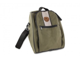 Firedog Mini Boot bag - khaki/beige