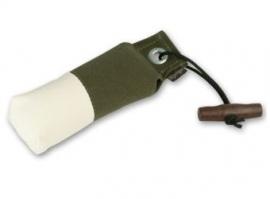 Pocket dummy 150g khaki/wit