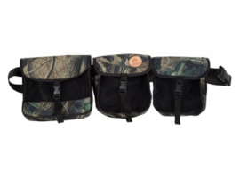 Firedog training belt - woodland camo