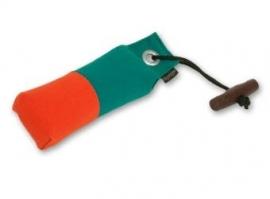 Pocket dummy 150g oranje/groen