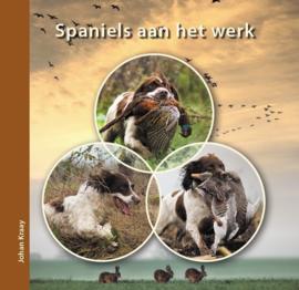 'Spaniëls aan het werk' door Johan Kraay