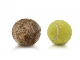 Tennisbal konijn - natuurkleur